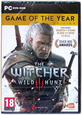 The Witcher III 3: Wild Hunt - Game of the Year Edition (GotY) Complete PC Game