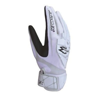 Xprotex Raykr Batting Gloves Youth - White - Small