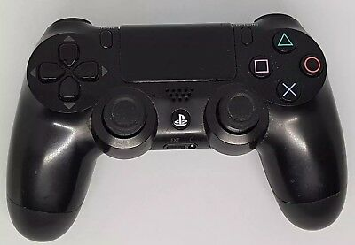 Official Genuine Sony Playstation 4 Ps4 Black Dualshock 4 Wireless Controller.