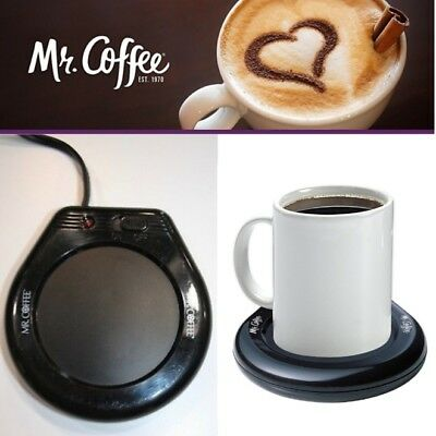 Electric Coffee Mug Warmer Tea Cup Heater Beverage Heating Plate Office Desktop