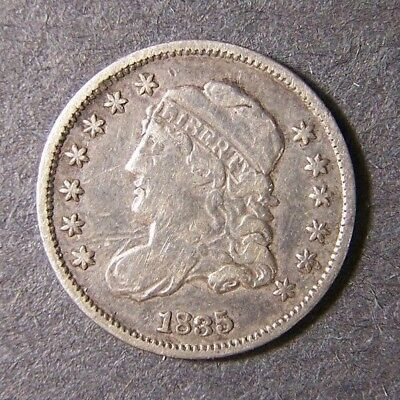 1835 Capped Bust Half Dime 5c Free shipping