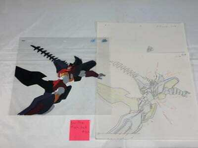 TRANSFORMERS JAPANESE BEAST WARS NEO MACHKICK ANIMATION ART CELL cel LOT 212