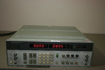 HP Agilent 8903B Audio Analyzer 30 Day Warranty, Recent Calibration
