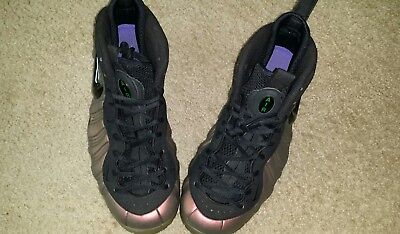 1267335ca72 Nike Foamposite Pro Size 10 Black Gym Green 624041 302 Great Condition