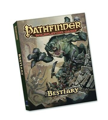 Pathfinder Roleplaying Game: Bestiary (Pocket Edition) by Jason Bulmahn.