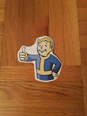 Fallout Vault Boy Thumbs Up Sticker