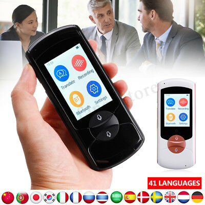 Instant Real Time Smart Voice Translator 41 Languages Wifi Travel Pocket Device