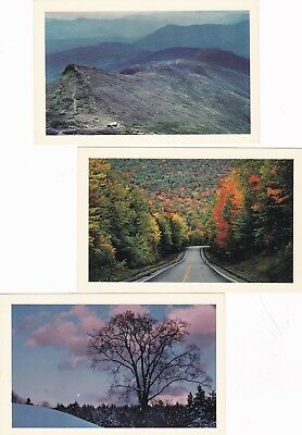 New Hampshire,5 Scenes by Chuck Theodore-Lake Clouds,Hghway,Moonrise Landaff++