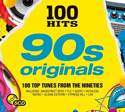 Various-100 Hits - 90S Originals Cd Nuovo