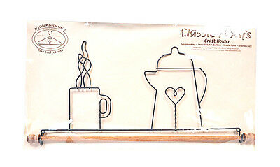 Classic Motifs Coffee Pot 16 Inch Fabric Holder With Dowel