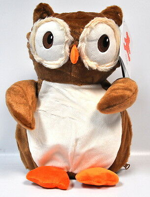 EB Embroider Okie Owl 16 Inch Embroidery Stuffed Animal