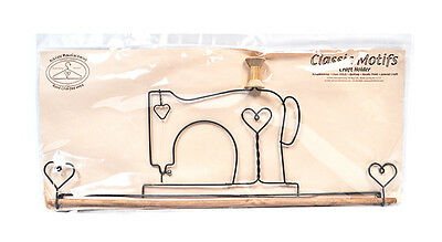 Classic Motifs Sewing Machine 22 Inch Fabric Holder With Dowel
