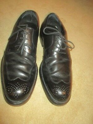 8888160a36f MENS GUCCI BLACK Leather Wingtip Oxford Shoes