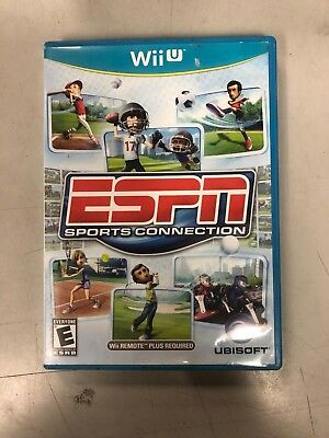 ESPN Sports Connection (Nintendo Wii U, 2012) COMPLETE