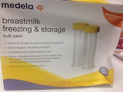 Medela Breastmilk 12 Freezing & Storage Bulk Pack D13
