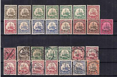 German East Africa, MH* / used (11f)