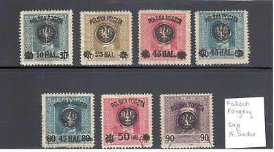 Poland  Lublin issue old forgery   exp. A.Sader