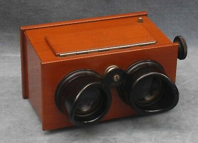 Vintage Wooden Zeiss Ikon 45X107 Stereo Viewer, Beautiful Condition 628/6? (M)