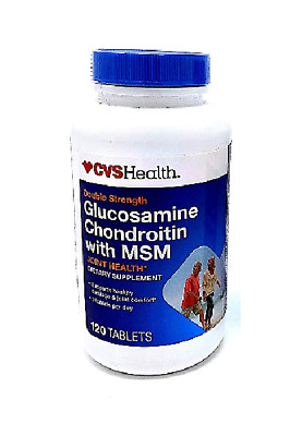 Glucosamine Chondroitin With MSM - x 120 Tablets EXP 2020