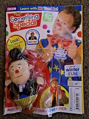 CBeebies Mr Tumble Something Special Magazine #9 with lord tumble toy