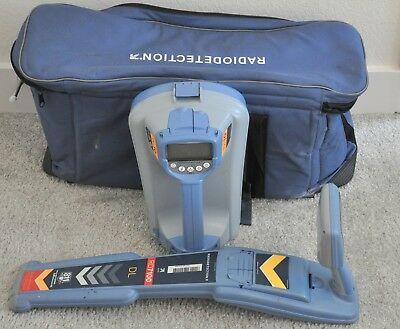 Radiodetection SPX RD7100 DL Tx10 Cable Pipe Fault Line Locator Utility