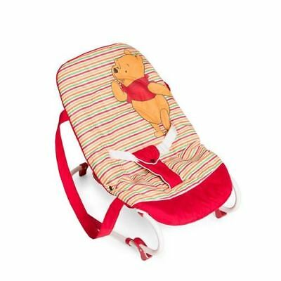 hauck rocking baby bouncer Rocky Pooh Spring Brights red