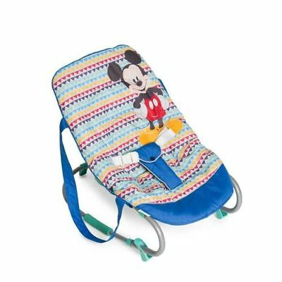 hauck rocking baby bouncer Rocky Mickey Geo Blue