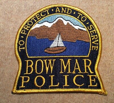 CO Bow Mar Colorado Police Patch