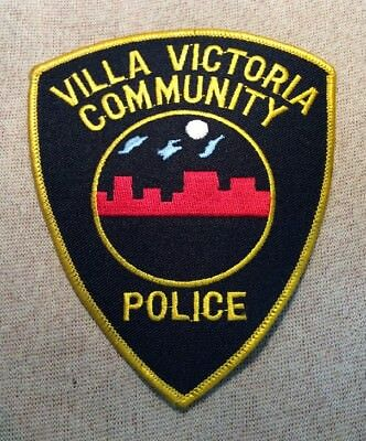 MA Villa Victoria Community Boston Massachusetts Police Patch