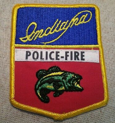 IN Indiana Police-Fire Patch
