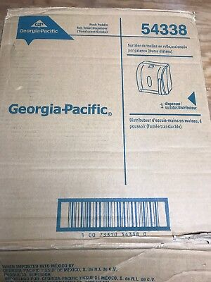 Georgia-Pacific Georgia-Pacific 54338 Push Paddle Paper Towel Dispenser NEW