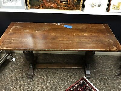 Antique Oak Refectory Table 17th / 18th Century