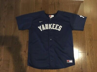 innovative design b04f6 f178e YANKEES JERSEY DEREK Jeter Youth Large 14-16 away jersey ...