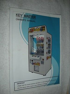 Key Master Arcade Game Owners Manual
