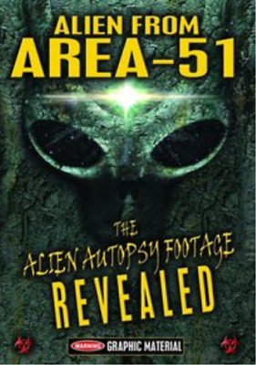 Alien from Area 51: The Autopsy Footage Revealed DVD NUEVO