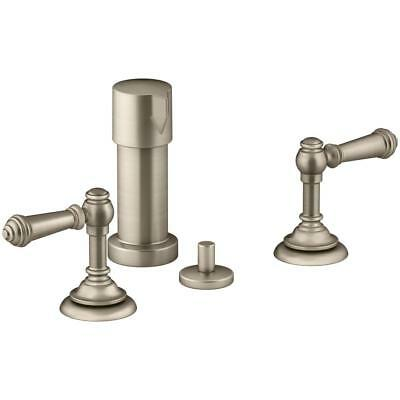 Kohler Artifacts K-72765-4-BV Vibrant Brushed Bronze 2-Handle Bidet Faucet