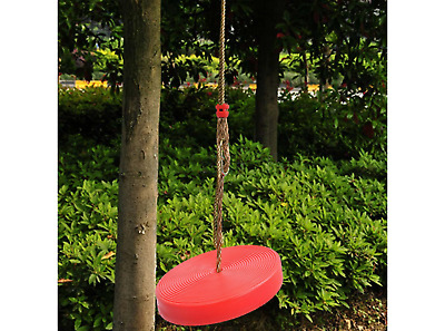 Tree Swing Disc Seat Adjustable Rope Swing Holds Up to 200 LBS For Kid /& Adults