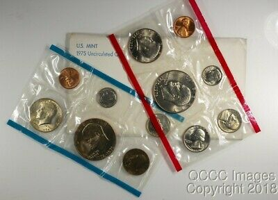 1975 US Mint Set / Nice Original Packaging / No stickers or writing