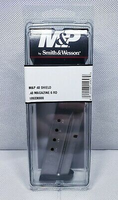 Smith and Wesson M&P Shield Magazine .40 40 S&W 6 Round 19933