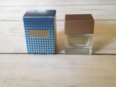 Miniature GUCCI POUR HOMME II EDT 5ml New In Box Mini Perfume