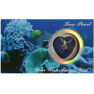 MERZIEs Love Harvest your own Pearl Necklace REEF Box Wish Pendant Cage - USA