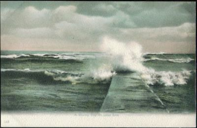 A Stormy Day on Lake Erie