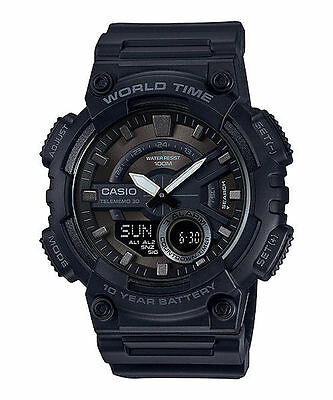 Casio Men's 'CLASSIC' Stainless Steel and Resin Casual Watch [retail $34.95]