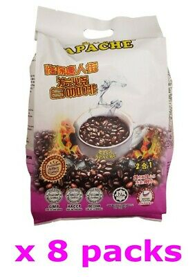 Apache Instant Ipoh China Town Charcoal White coffee 2 in 1 (20 g x 160 sachets)