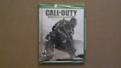 Call of Duty: Advanced Warfare (Microsoft Xbox One, 2014) Factory Sealed