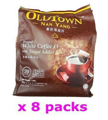 OldTown Nan Yang Old Town Malaysia Roasted White Coffee O with sugar (30gx160s )