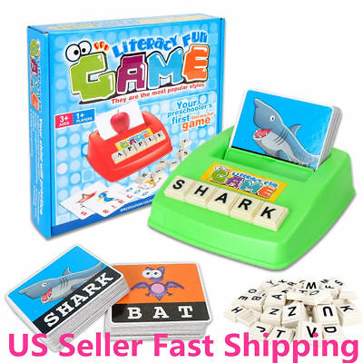 Kids Baby English Spelling Game Alphabet Letter Learning Early Educational Toy