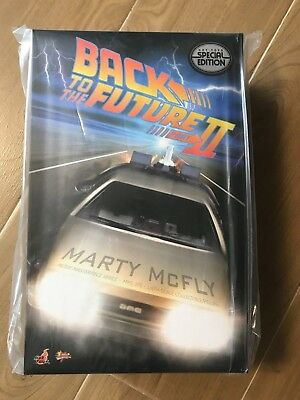 INSTOCK Hot Toys MMS379 Back To The Future 2 Marty McFly 1/6 Figure Special