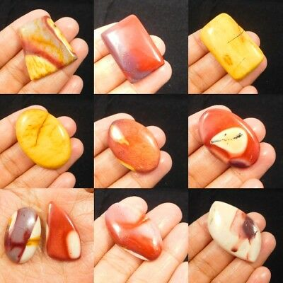 100% Natural Mookaite Cabochon Gemstone NG2467-2481,21198-12200 Free Shipping