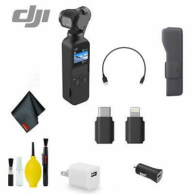 DJI Osmo Pocket Handheld 3 Axis Gimbal Stabilizer Bundle 1